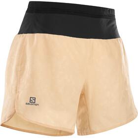 Salomon XA Shorts Damer, beige/sort